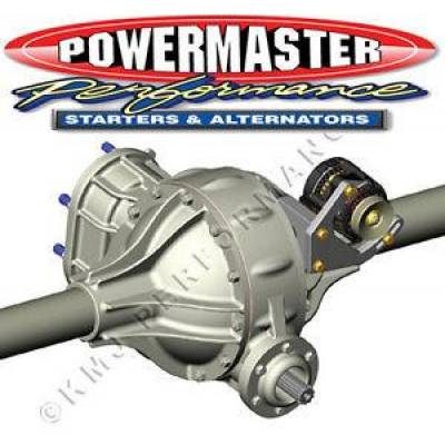 Engine Components & Valvetrain - Accessory Mounting Brackets - Powermaster - Powermaster 400 Pro Series Quick Change Rearend Alternator Bracket