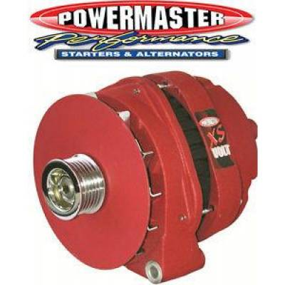 Ignition & Electrical - Alternators and Brackets - Powermaster - Powermaster 482038SPL GM CS144 Competition Alternator 300 Amp XS Volt Natural