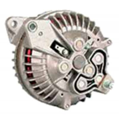 Ignition & Electrical - Alternators and Brackets - Powermaster - Powermaster 7019 Mopar 90 Amp Round Back Alternator w/2V-Pulley Natural