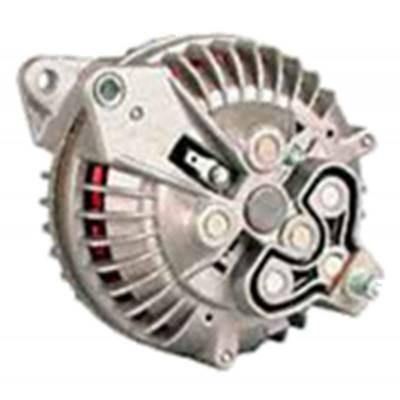 Ignition & Electrical - Alternators and Brackets - Powermaster - Powermaster 7019 Mopar 90 Amp Round Back Alternator w/2V-Pulley Natural