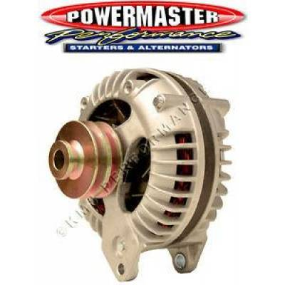 Ignition & Electrical - Alternators and Brackets - Powermaster - Powermaster 75091 Chrysler Square Back Alternator 90A Dbl Field 2V-Pulley 1-Wire