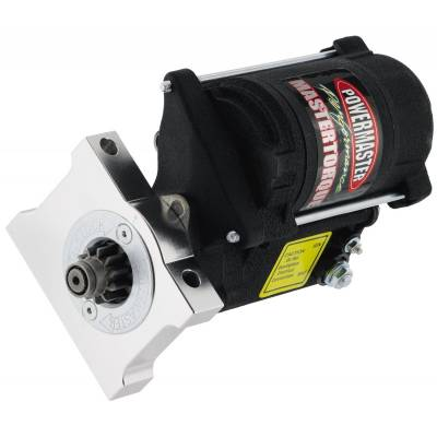 Ignition & Electrical - Starters - Powermaster - Powermaster 9610 Pontiac Oldsmobile V8 Mastertorque Starter 180 ft-lb. Natural