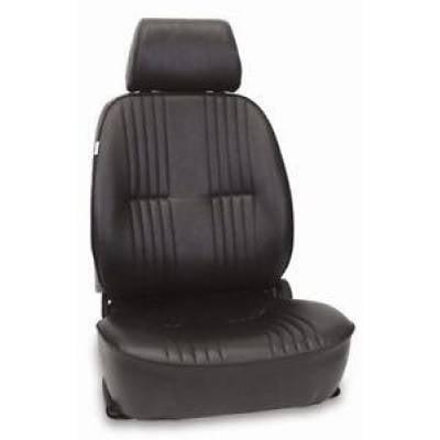 Interior Trim & Accessories - ProCar By Scat - Procar 1300 Series Vintage-Style Vinyl Bucket Seat Drivers Side Black