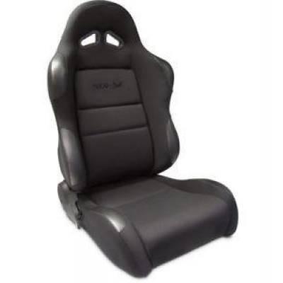 Interior Trim & Accessories - ProCar By Scat - Procar 1606 Series Sportsman Velour Seat Driver Side Black