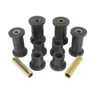 Jeep Accessories - Prothane Motion Control - Prothane 1-1005-BL 1987-96 Jeep Wrangler YJ Front Spring Eye Shackle Bushing Kit