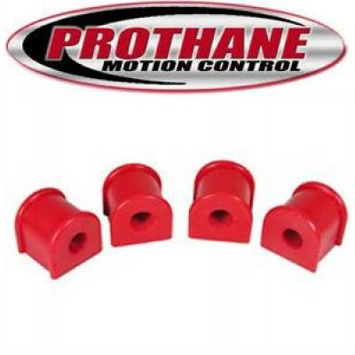 "Prothane Motion Control - Prothane 1-1118 Jeep Cherokee XJ 84-01 Rear 5/8"" Sway Bar Bushing Kit Red Poly"
