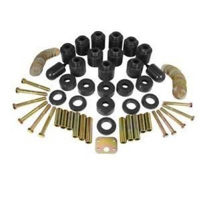 "Jeep Accessories - Prothane Motion Control - Prothane 1-114-BL 1"" Lift Body Mount Lift Kit w/ Hardware 97-06 Jeep Wrangler TJ"