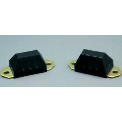 Prothane Motion Control - Prothane 1-1301-BL 76-86 CJ5 CJ7 87-96 Wrangler YJ Front Axle Snubber Bump Stops