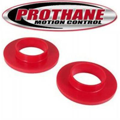 - Prothane Motion Control - 1970-83 AMC Matador Hornet Spirit Front Upper Coil Spring Isolators Red Poly