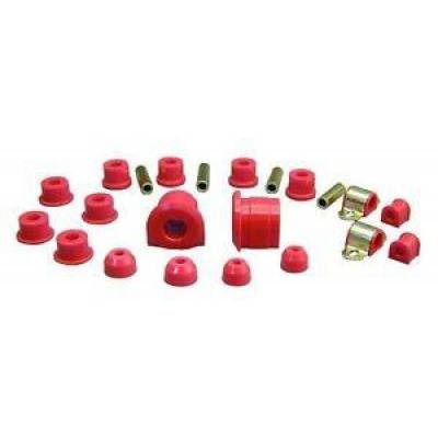 Car Accessories - Prothane Motion Control - Prothane 12-2001 1986-1991 Mazda RX-7 RX7 Total Suspension Bushing Kit Red Poly