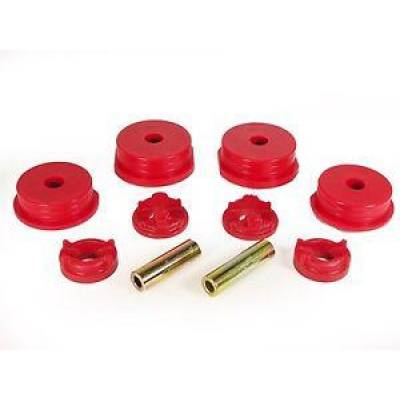 Car Accessories - Prothane Motion Control - Prothane 13-1901 95-99 Eclipse Eagle Talon 4 Cyl Motor Mount Inserts FWD AWD Red