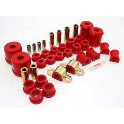 Car Accessories - Prothane Motion Control - Prothane 13-2002 2000-05 Mitsubishi Eclipse Complete Suspension Bushing Kit Red