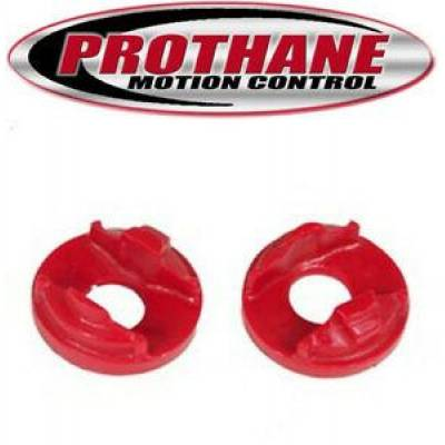 Car Accessories - Prothane Motion Control - Prothane 13-502 95-99 Eclipse/Talon Front Motor Mount Insert Red Polyurethane