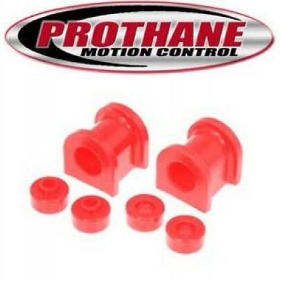 Prothane Motion Control - Prothane 14-1117 Fits Nissan 240SX 89-94 24mm Front Sway Bar Bushing Red Poly
