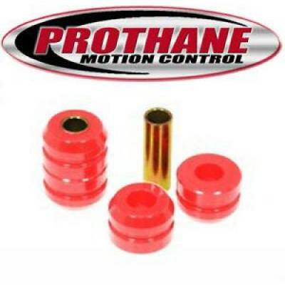 Car Accessories - Prothane Motion Control - Prothane 14-1201 for Nissan/Datsun 80-86 2/4WD Pickup Strut Arm Bushing Red Poly
