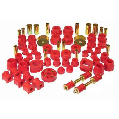 Car Accessories - Prothane Motion Control - Prothane 14-2001 Total Suspension Bushing Kit for 70-73 Datsun 240Z Red