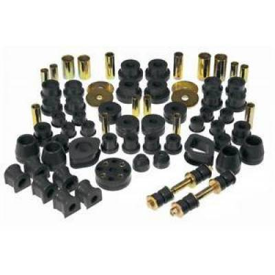 Car Accessories - Prothane Motion Control - Prothane 14-2001-BL Total Suspension Bushing Kit for 70-73 Datsun 240Z Black