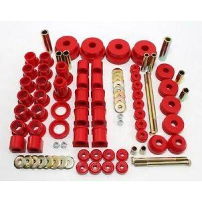 Car Accessories - Prothane Motion Control - Prothane 14-2004 Complete Suspension Bushing Kit for 1984-1989 Nissan 300ZX Poly