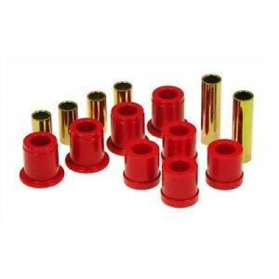 Car Accessories - Prothane Motion Control - Prothane 14-202 Front Control Arm Bushings for 86.5-97 Nissan Pathfinder Red