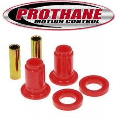 Car Accessories - Prothane Motion Control - Prothane 14-206 Front Lower Control Arm Bushings Red Poly for 84-89 Nissan 300ZX
