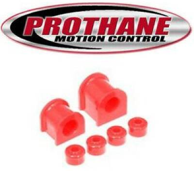SUV Accessories - Prothane Motion Control - Prothane 18-1115 96-01 Toyota 4Runner 26mm Front Sway Bar & Endlink Bushings Red