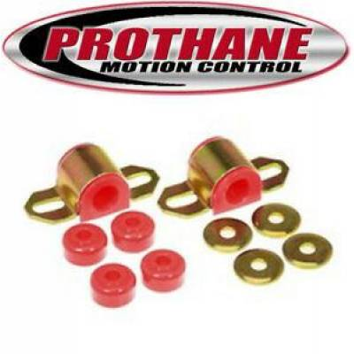 SUV Accessories - Prothane Motion Control - Prothane 18-1116 96-01 Toyota 4Runner 19mm Rear Sway Bar & Endlink Bushings Red