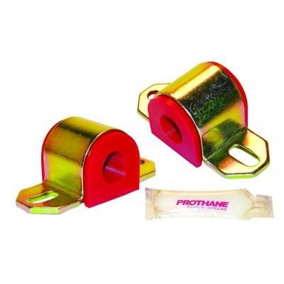 "- Prothane Motion Control - Prothane 19-1132 Universal 7/8"" Sway Bar Bushing Kit Front Rear Custom Red Poly"