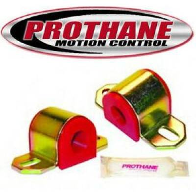 "- Prothane Motion Control - Prothane 19-1136 Universal Sway Bar Bushing 1 1/8"" Fits ""B"" Bracket Red Poly"