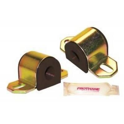 "- Prothane Motion Control - Prothane 19-1137-BL Universal 1-1/4"" Sway Bar Bushing Kit ""B"" Bracket Poly"