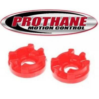 Prothane Motion Control - Prothane 28-501 2003-05 Tiburon Motor Mount Insert Front Rear V6 Engine Red Poly