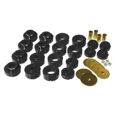 SUV Accessories - Prothane Motion Control - Prothane 7-110-BL 1981-1991 Chevy GMC 4WD Blazer Jimmy Body Mount Bushing Kit