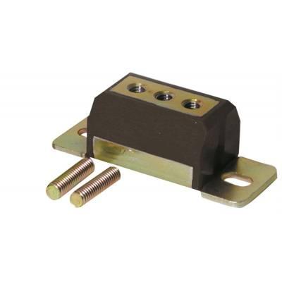 Transmission & Drivetrain - Transmission Mounts - Prothane Motion Control - Prothane 7-1604-BL Transmission Mount 1 or 2 Bolt 58-02 TH350 TH400 GM Olds