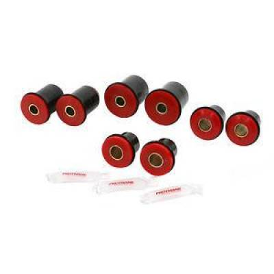"Car Accessories - Prothane Motion Control - 1974-79 Camaro Impala Chevelle Front C-arm Bushings 1.625"" OD Frt Lwr Red Poly"