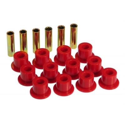 SUV Accessories - Prothane Motion Control - Prothane 9-1001 72-81 IH Scout II Front / Rear Leaf Spring & Shackle Bushing Kit