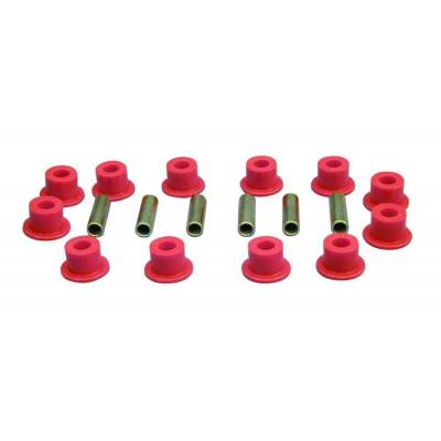 SUV Accessories - Prothane Motion Control - Prothane 9-1003 68-71 IH Scout 800 Front Spring Eye Shackle Bushing Kit Red Poly