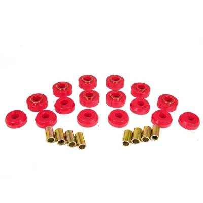 SUV Accessories - Prothane Motion Control - Prothane 9-101 1972-1981 IH Scout II Body Mount Bushing Kit 16 Pieces