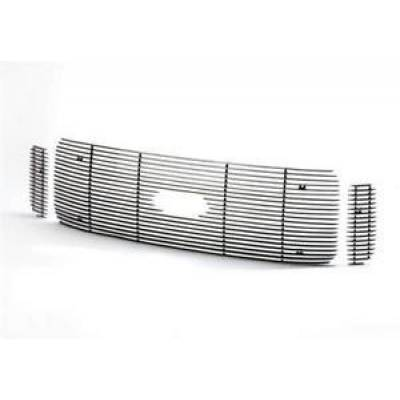 SUV Accessories - Putco - PUTCO 71131 Shadow Custom Billet Aluminum Grille 2003-2006 Chevy Trailblazer