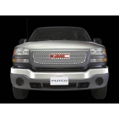 SUV Accessories - Putco - PUTCO 84111 Punch Grille Stainless Steel Insert 2002-2008 GMC Envoy Envoy XL