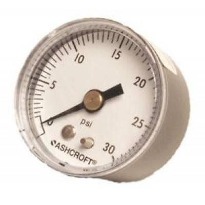 Quick Fuel Technologies - QUICK FUEL Fuel Pressure Gauge Mechanical 1 1/2 Inch 0-30 psi 1/8 npt 30-48