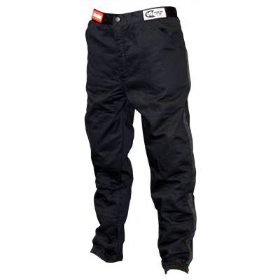- Racequip - RaceQuip 112004 Medium-Tall Black 2pc Single Layer Race Driving Fire Suit Pants