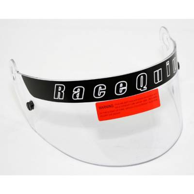 - Racequip - RaceQuip 202001 SA2010 Clear Visor Replacement Helmet Face Shield For SportMod