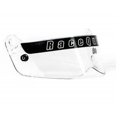Racequip - RaceQuip 205001 Vesta Series Clear Replacement Face Shield Fits Vesta 15 Helmet