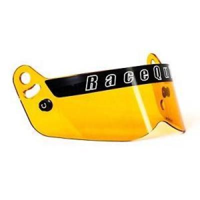 - Racequip - RaceQuip 205006 Vesta Series Amber Replacement Shield Fits Vesta 15 Helmet