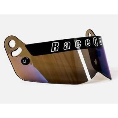 - Racequip - RaceQuip 205007 Vesta Series Blue Iridium Replacement Shield Fits Vesta Helmets