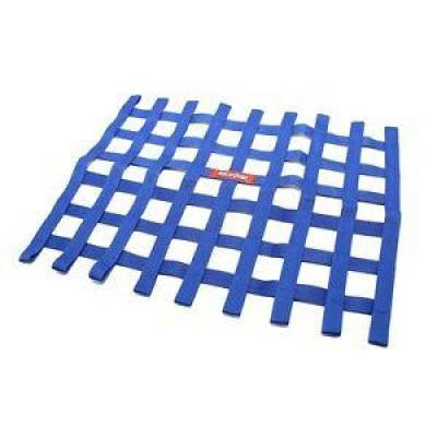 Safety & Seats - Nets and Harnesses - Racequip - RaceQuip 721025 Blue Non SFI Safety Ribbon Window Net Sprint Car Circle Track
