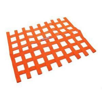 Safety & Seats - Nets and Harnesses - Racequip - RaceQuip 721045 Orange Non SFI Safety Ribbon Window Net Sprint Car Circle Track