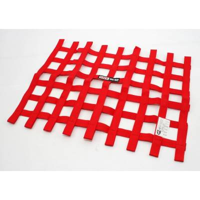Safety & Seats - Nets and Harnesses - Racequip - RaceQuip 725015 Red Ribbon SFI Rated Window IMCA USRA USMTS UMP Stock Car EMOD