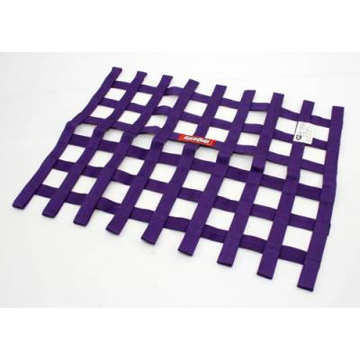 Safety & Seats - Nets and Harnesses - Racequip - RaceQuip 725055 Purple Ribbon Window Net SFI Rated IMCA USMTS UMP USRA DRAG
