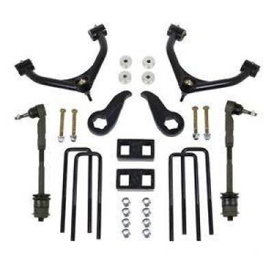 "ReadyLift - ReadyLift 69-3411 4"" Front /1"" Rear SST Lift Kit 2011-2018 Chevrolet 2500/3500HD"
