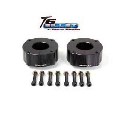 "ReadyLift - ReadyLift T6-5075-K 2.4"" T6 Billet Leveling Kit 2007-2018 Toyota Tundra Black"
